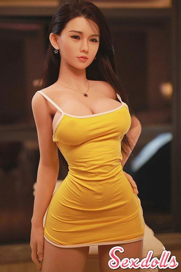 シリコン頭セックス人形